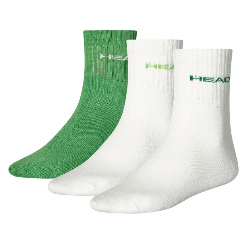HEAD Unisex Short Crew Socks 3P